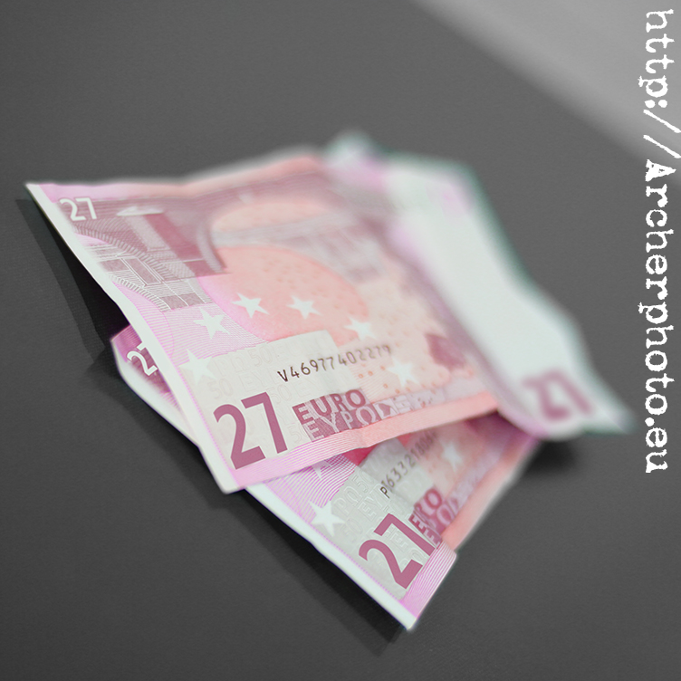 Billetes de 27 euros