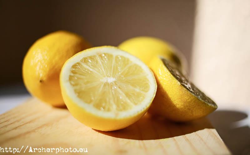 ¿Limones que curan el cáncer? - Foto de limones para la leyenda urbana. Y no, los limones NO curan el cáncer.