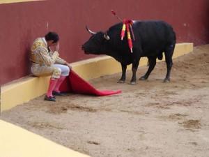 La foto falsa del torero arrepentido