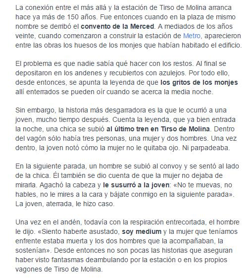 fantasma-metro-tirso-de-molina El fantasma de Tirso de Molina