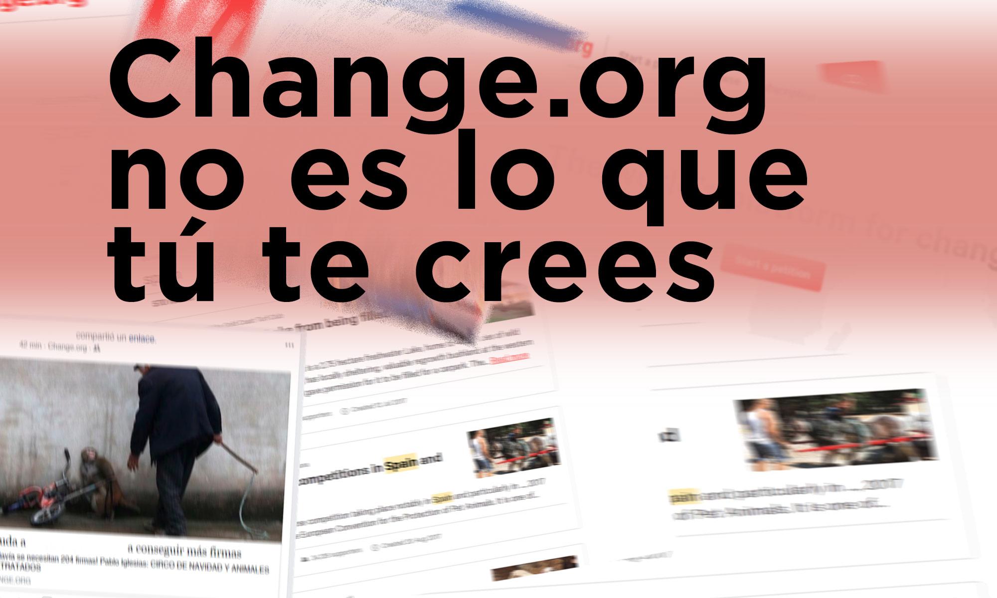 Change.org no es lo que tú te crees