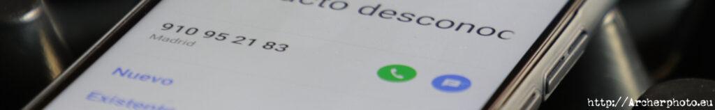 910952183 teléfono spam
