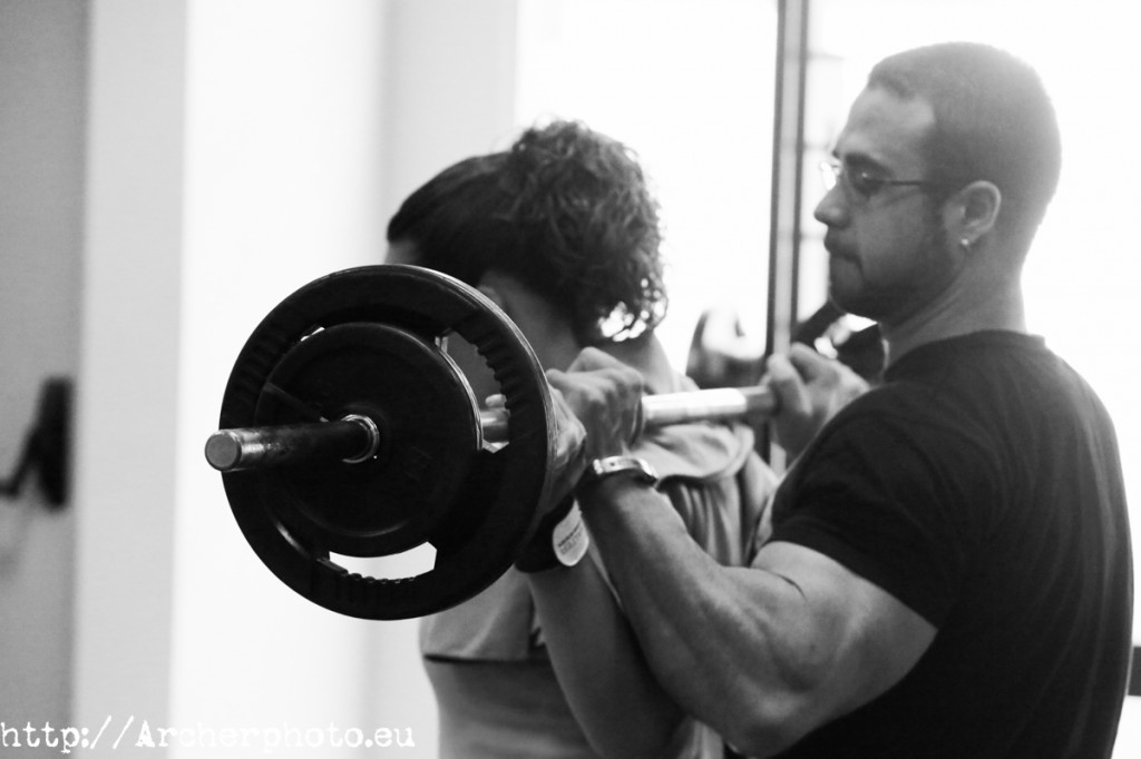 Julio Portet, personal trainer