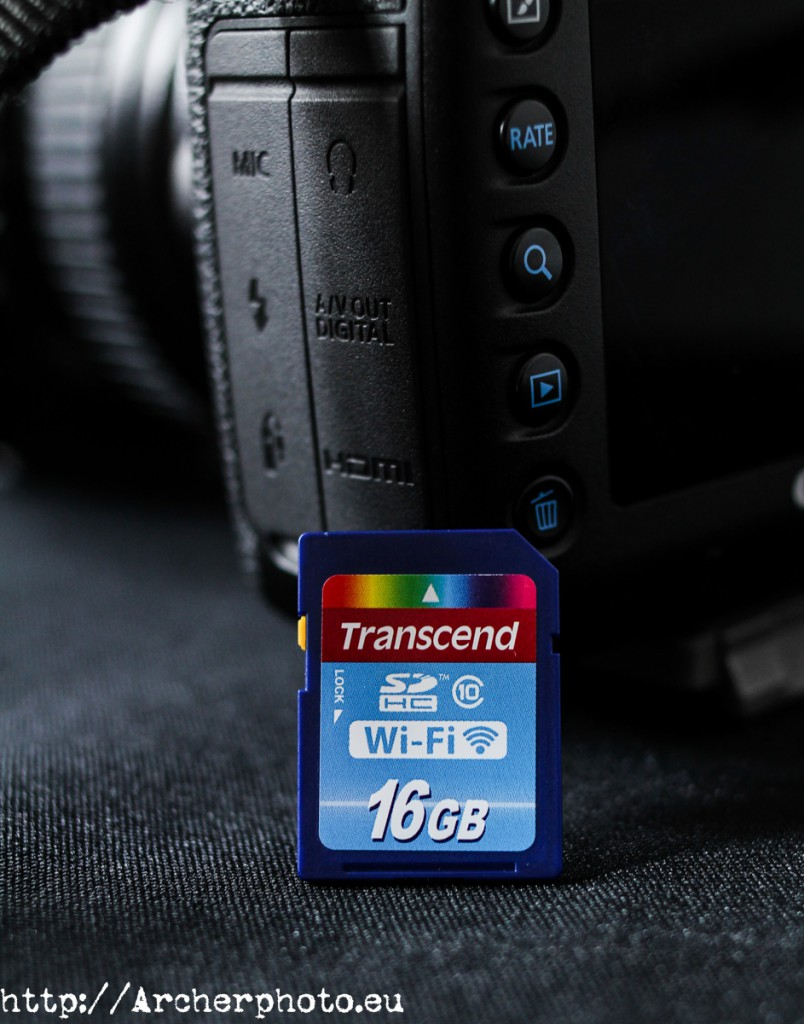 Transcend 16GB Wi-Fi by Archerphoto, professional photographer in Valencia, Spain