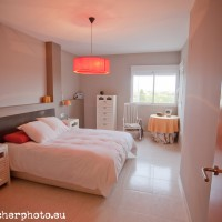 Bedroom, picture by Archerphoto, Photography for Real Estate in Valencia, Spain