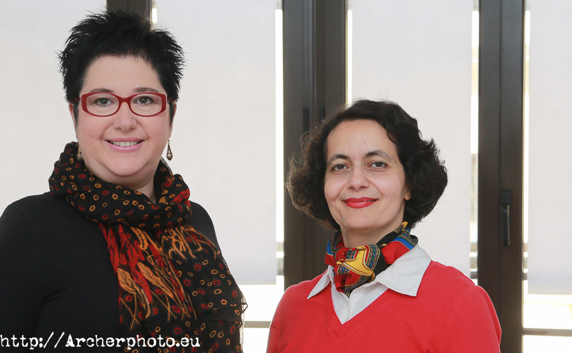 Matti Ameli and Mar Ortiz, psychologists
