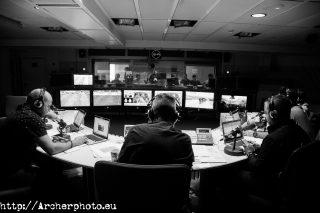 Carrusel Deportivo in SER studios, in Madrid, by Archerphoto, professional photographer in Spain.