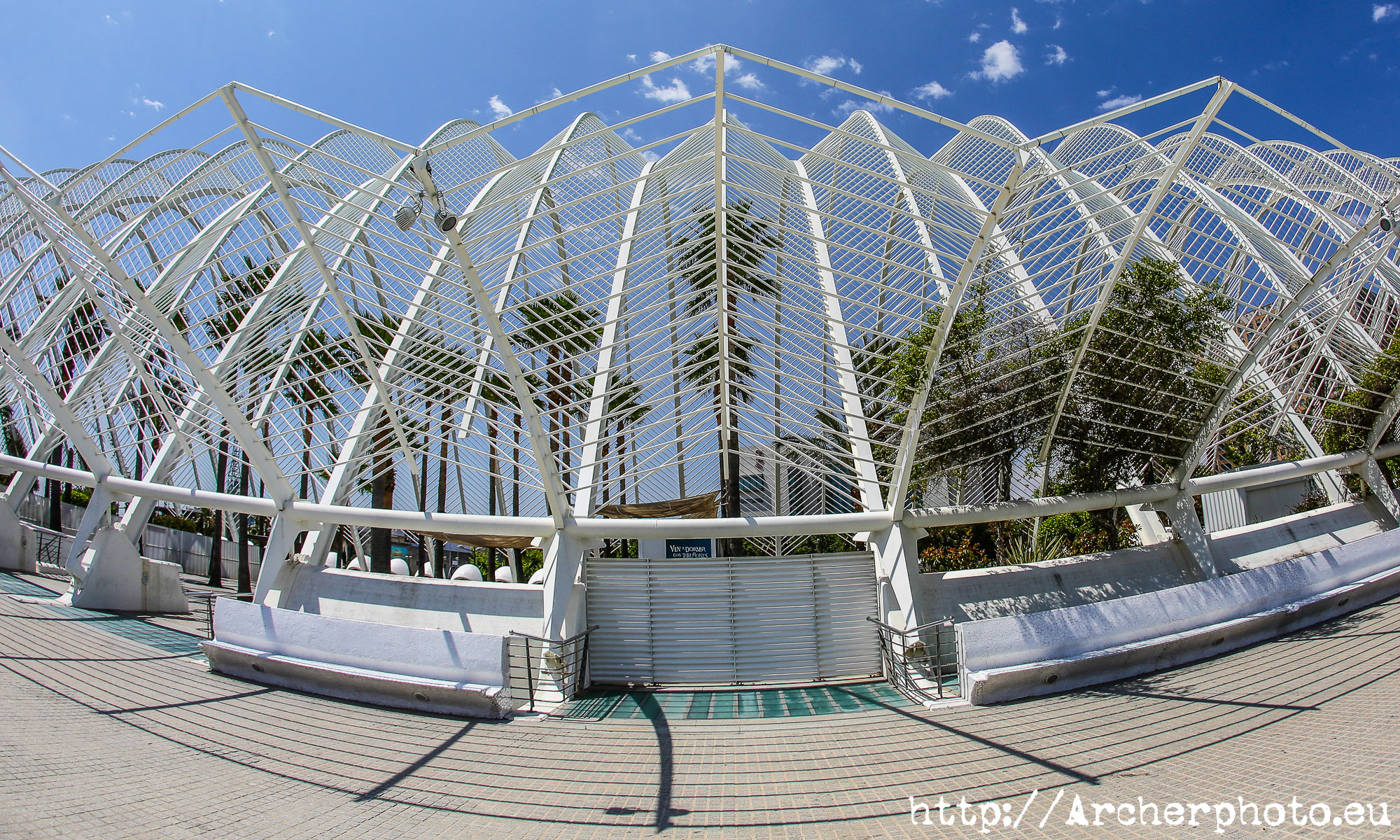 Umbracle, València, by Archerphoto