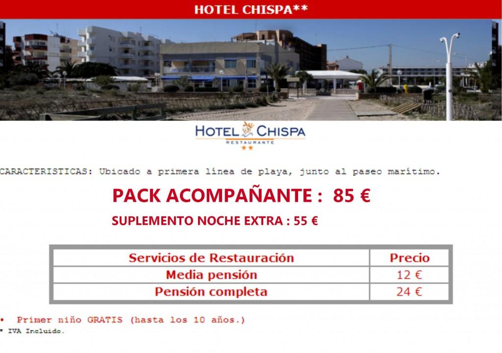 Chispa Reservas de hoteles