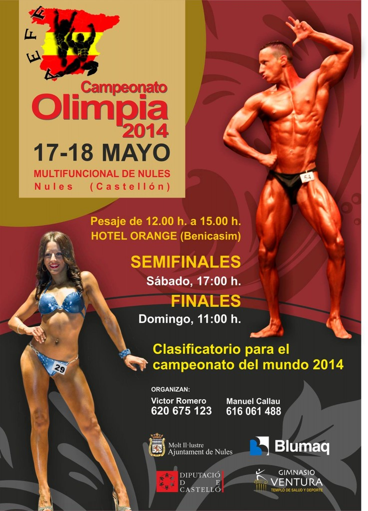 Póster Olimpia 2014