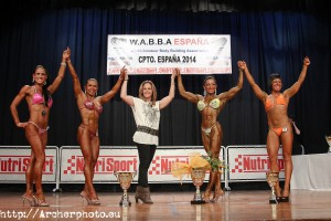 MISS FITNESS WABBA 2014