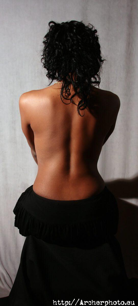 Desnudo, espalda, safe for work