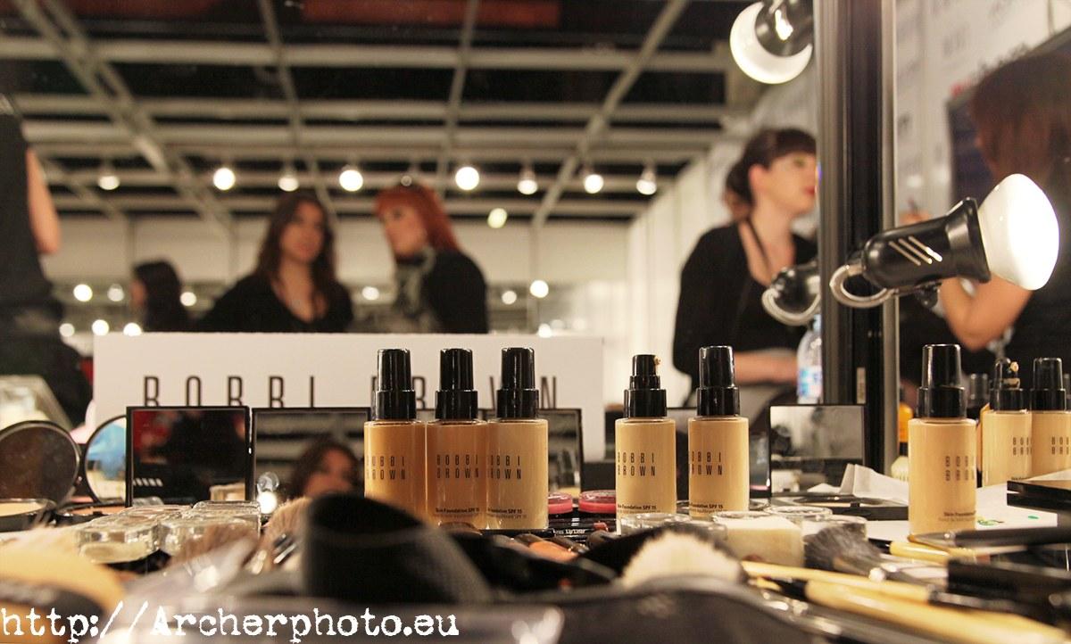 Maquillaje profesional, Semana de la moda