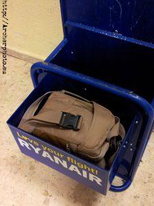 Volar con Ryanair - Dimensiones de las maletas