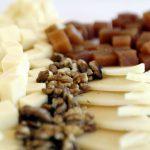 Fotografía de nueces, queso y membrillo, por Archerphoto, fotógrafo profesional