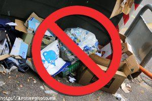 No subas basura