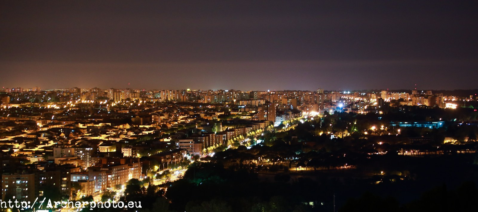 Madrid, foto nocturna