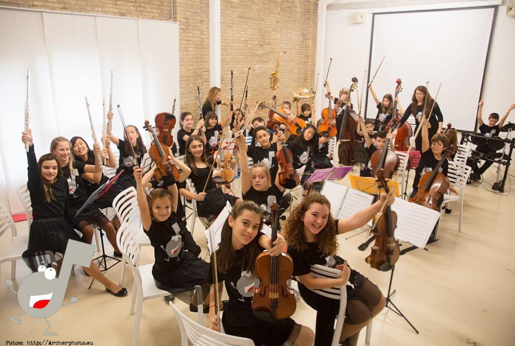 Scordae: una orquesta infantil por Archerphoto