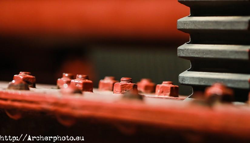 Cuatro fotos rojas. Cuarteto de fotografía bermeja.