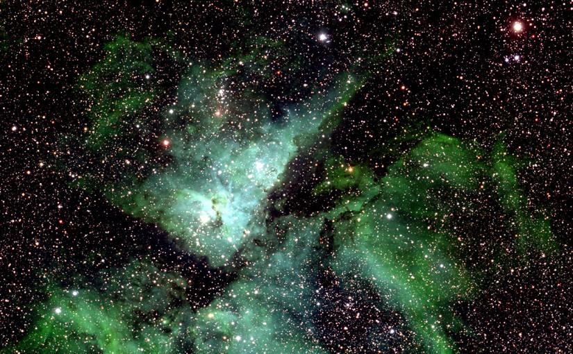 La mayor fotografía de la Vía Láctea
