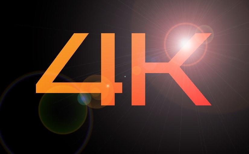 Vídeos en 4K