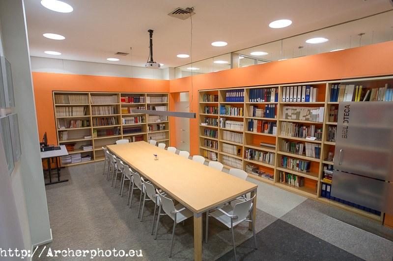 Fotografía de interiores - foto para inmobiliaria colegio economistas valencia
