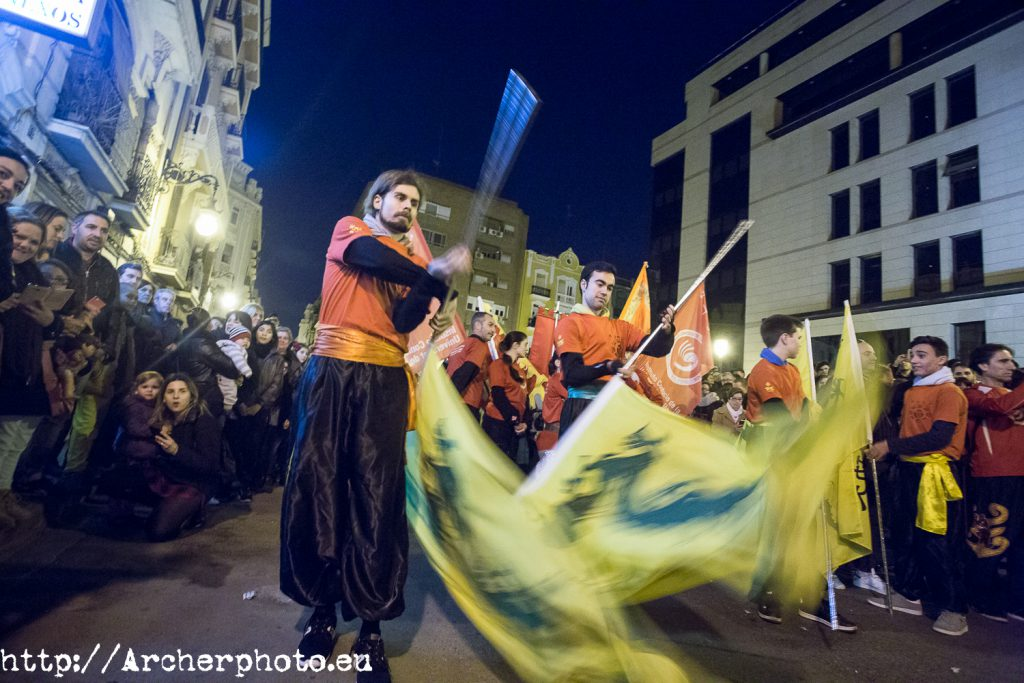 V Cabalgata del Año Nuevo Chino en Valencia