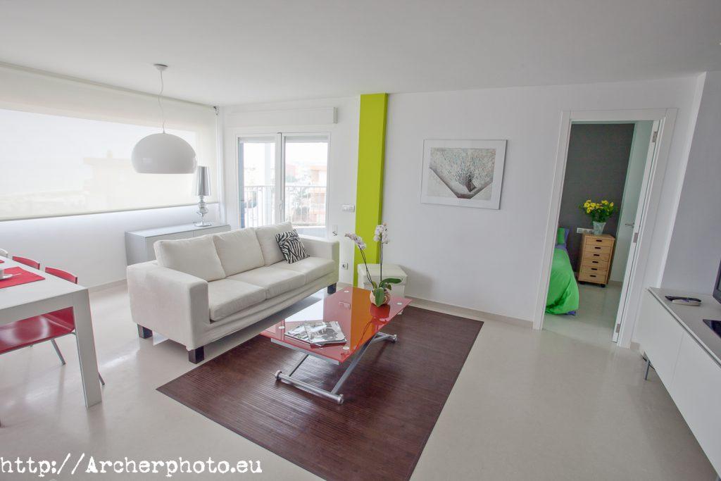 Fotografía de interiores - foto para inmobiliaria