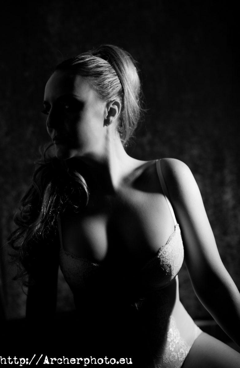 María Roca en una fotografía de Archerphoto, boudoir