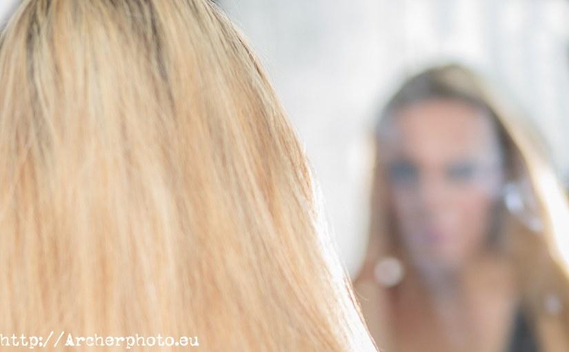 La persona en el espejo