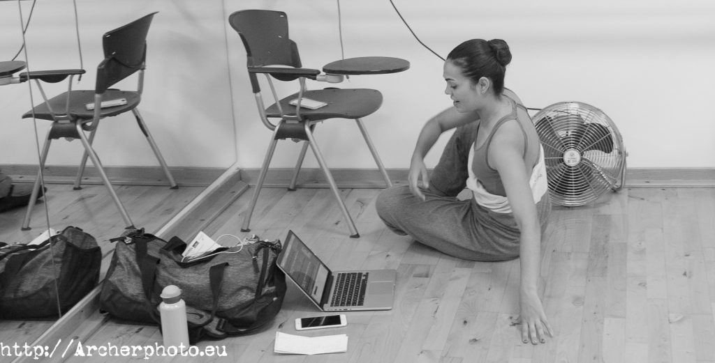 Un vídeo de ballet