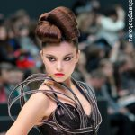 Semana de la Moda de Valencia Febrero 2012, Bibian Blue, fotografo Valencia, desfile, peinado
