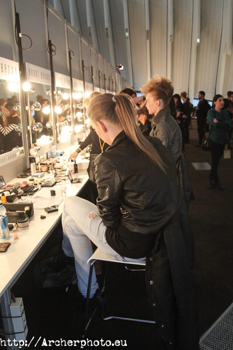 Backstage. Fotografía moda Valencia.