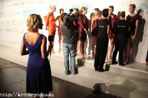 Fotos de backstage de Sergi Albir, Archerphoto, fotógrafo profesional en España.