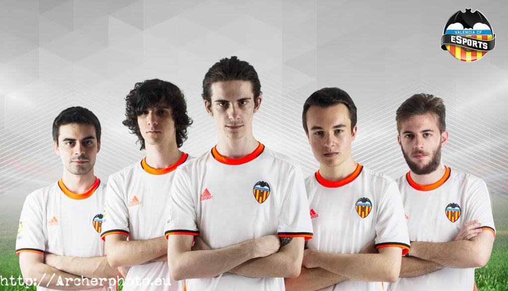 Retratos profesionales. Valencia CF eSports