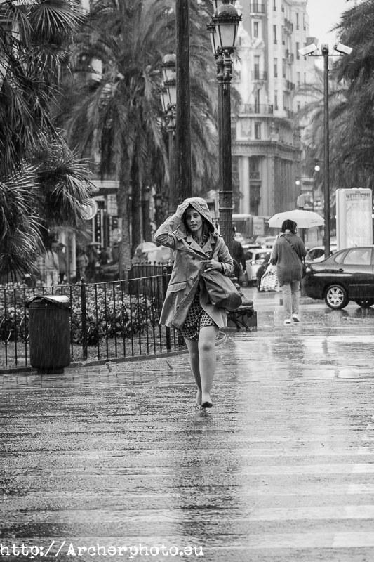 contento cuando llueve, fotógrafo profesional València