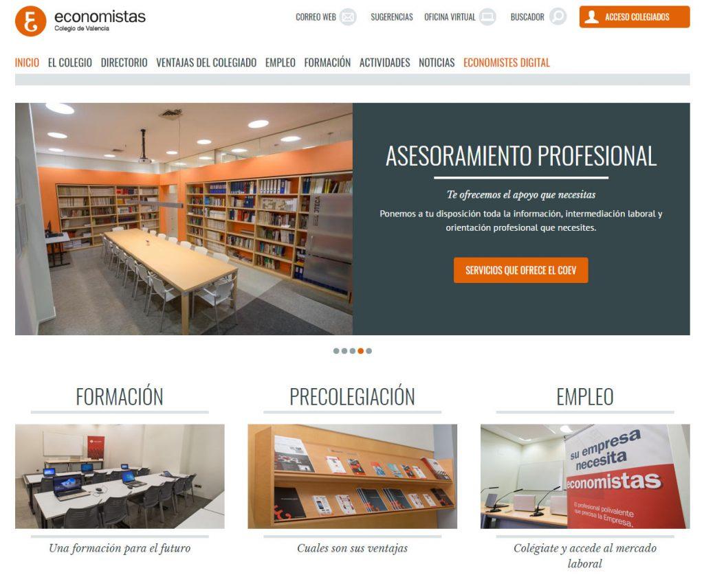 Fotos de colegio de economistas de Valencia por Sergi Albir, Archerphoto