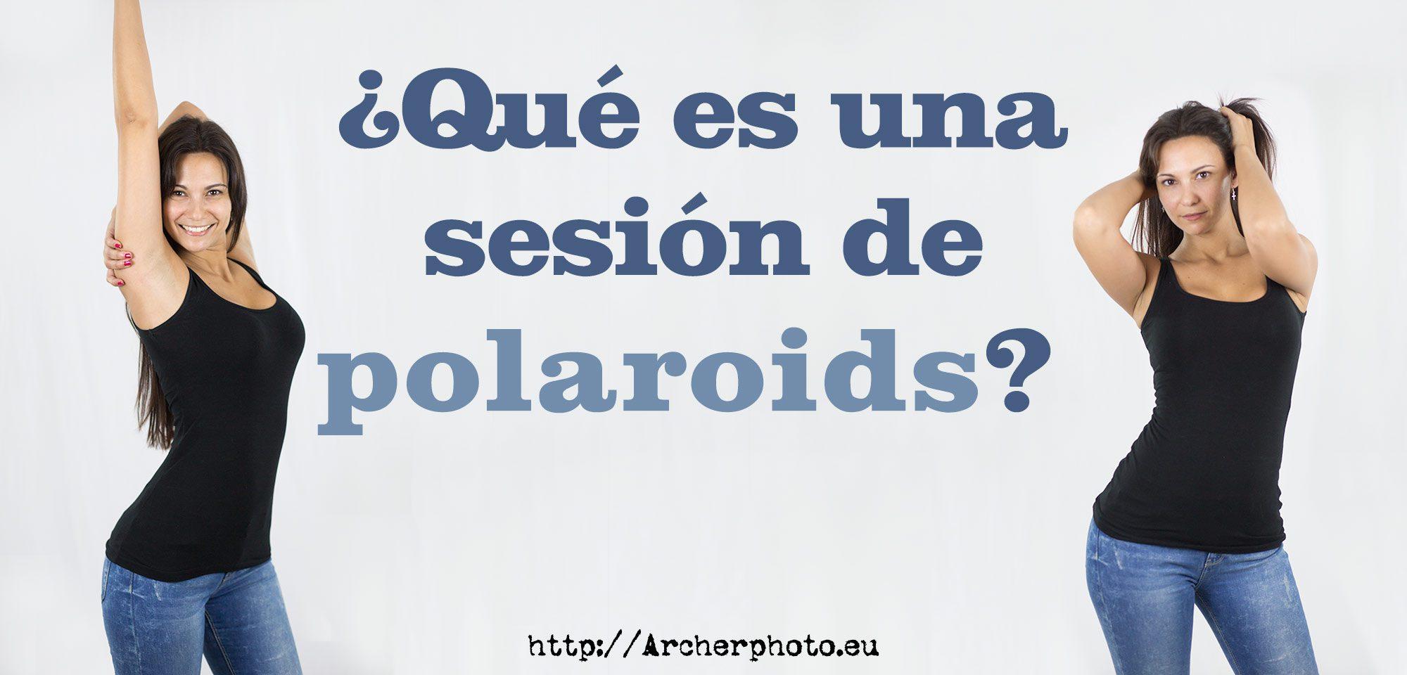 sesión de polaroids