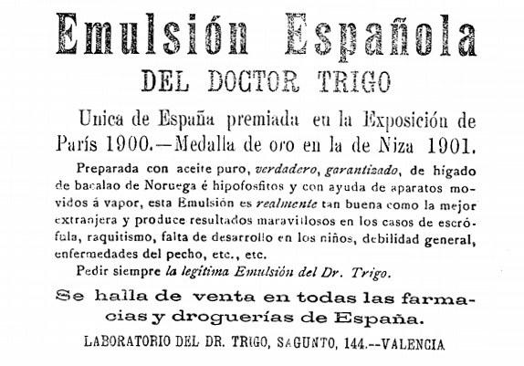 publicidad discutible heraldo de Alcoy 1901