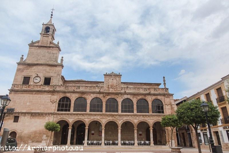 Casa consistorial., San Clemente, Cuenca.