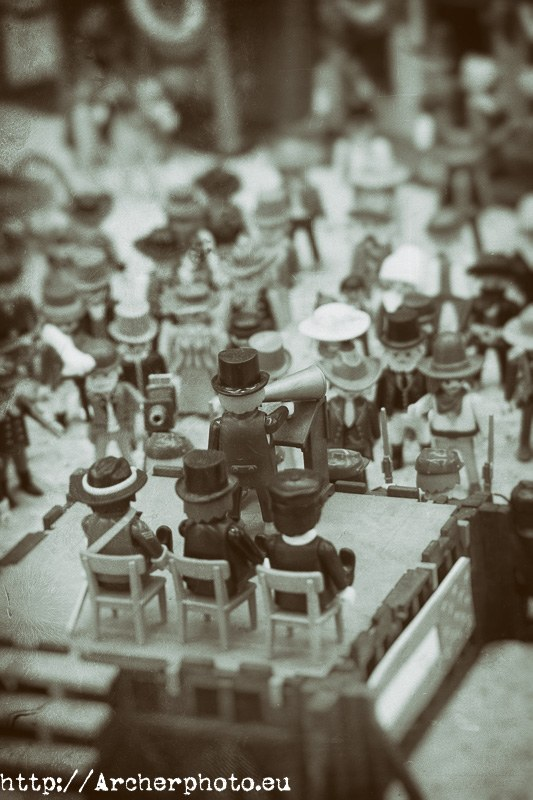 Clicks de Playmobil, Archerphoto, fotógrafo profesional en Valencia, Madrid, Barcelona y Deadwood.