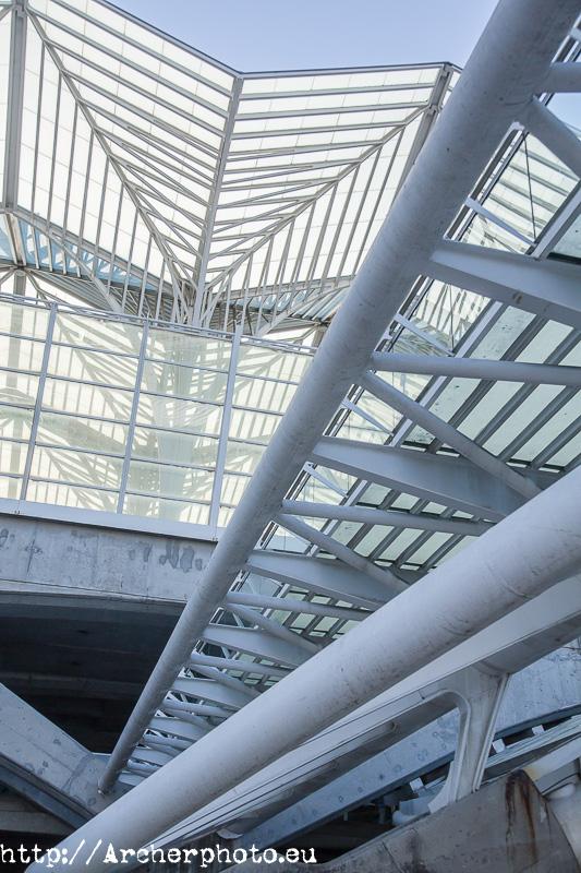 Estaçao do Oriente de Lisboa, de Santiago Calatrava, por Sergi Albir, fotógrafo profesional.