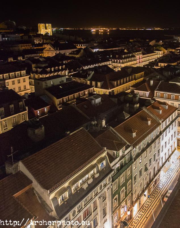 Lisboa de noche. Archerphoto, fotografía empresas y particulares.