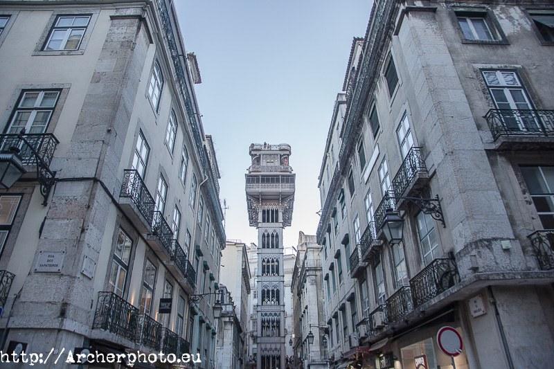 Elevador de Santa Justa. Sergi Albir,fotografo,fotos Lisboa.