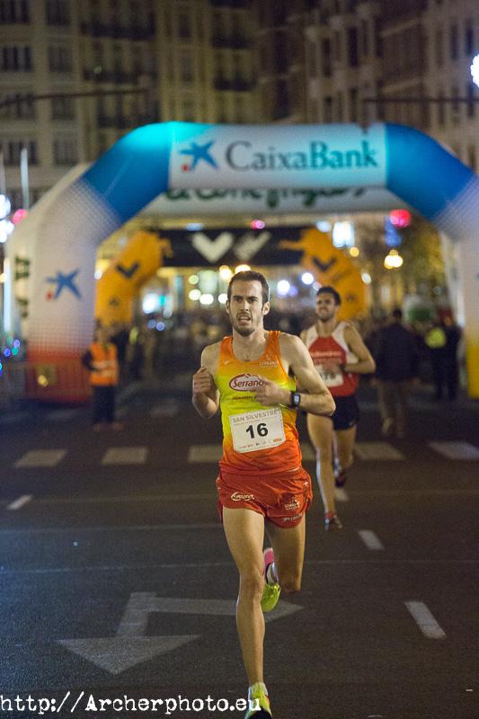 San Silvestre València 2017,Ismael Quiñones,fotografía deportiva
