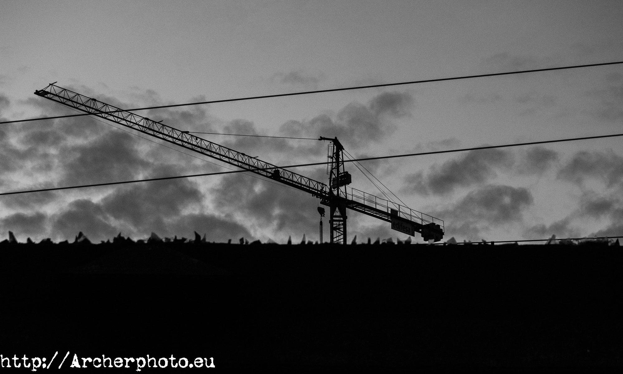 Otro puñado de fotos en blanco y negro,Valencia,grúa,fotografo profesional