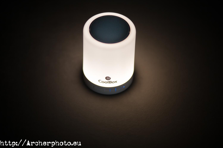Fotografía de producto. Fotografía para publicidad. Altavoz Bluetooth. Fotografía publicitaria.
