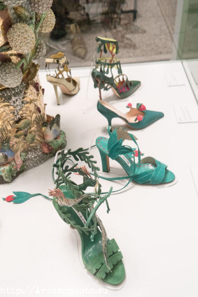 Manolo Blahnik. El arte del zapato. Fotógrafo profesional en Madrid