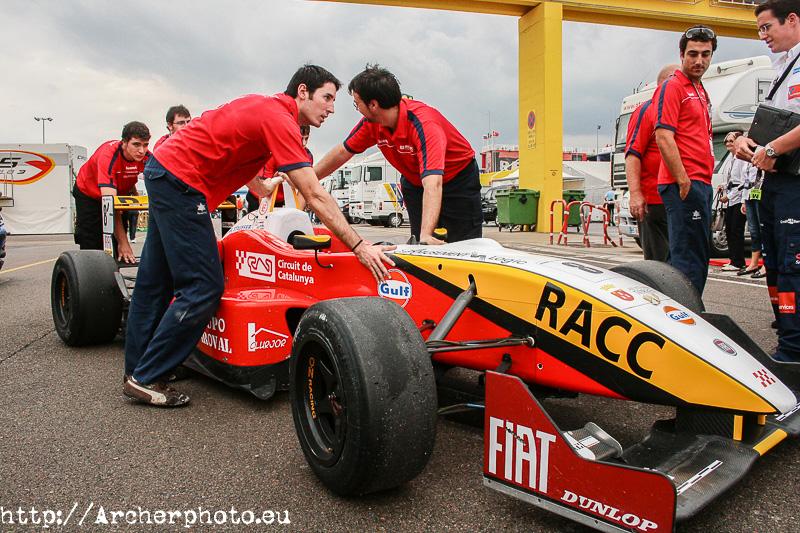 Fórmula 3: reportaje de 2007 reprocesado por Archerphoto fotógrafo en Valencia