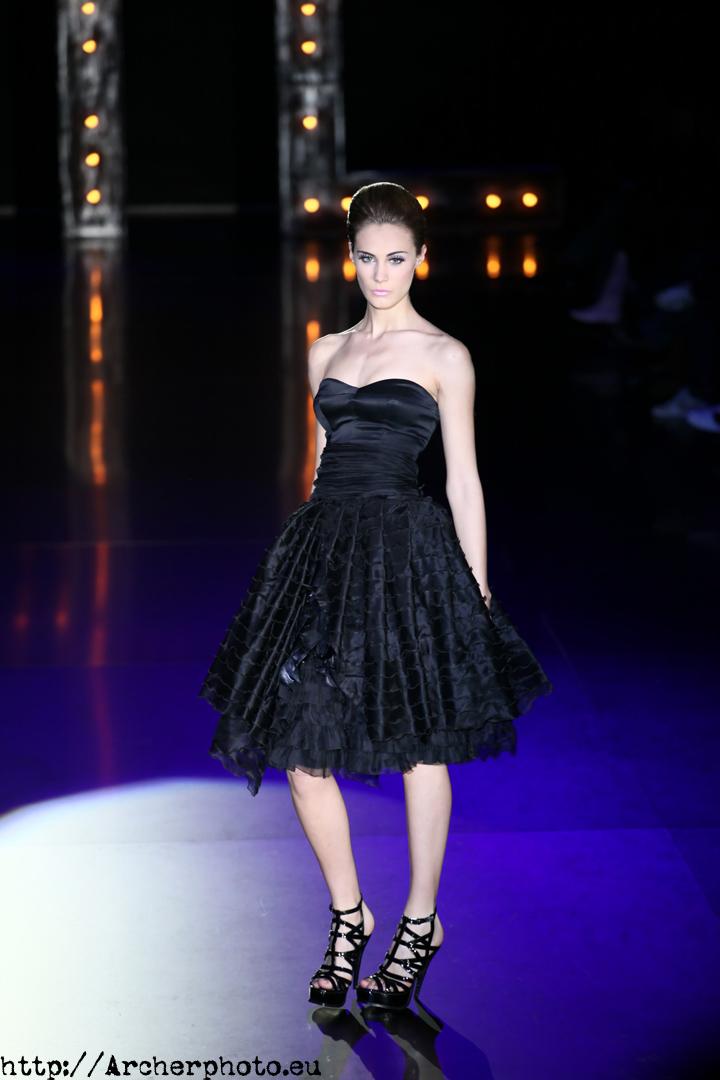 """Elena Santamatilde, modelo de pasarela. Foto para el post """"Quiero ser modelo"""""""